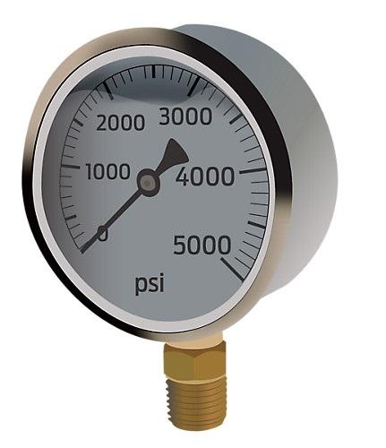 What is a pressure gauge?