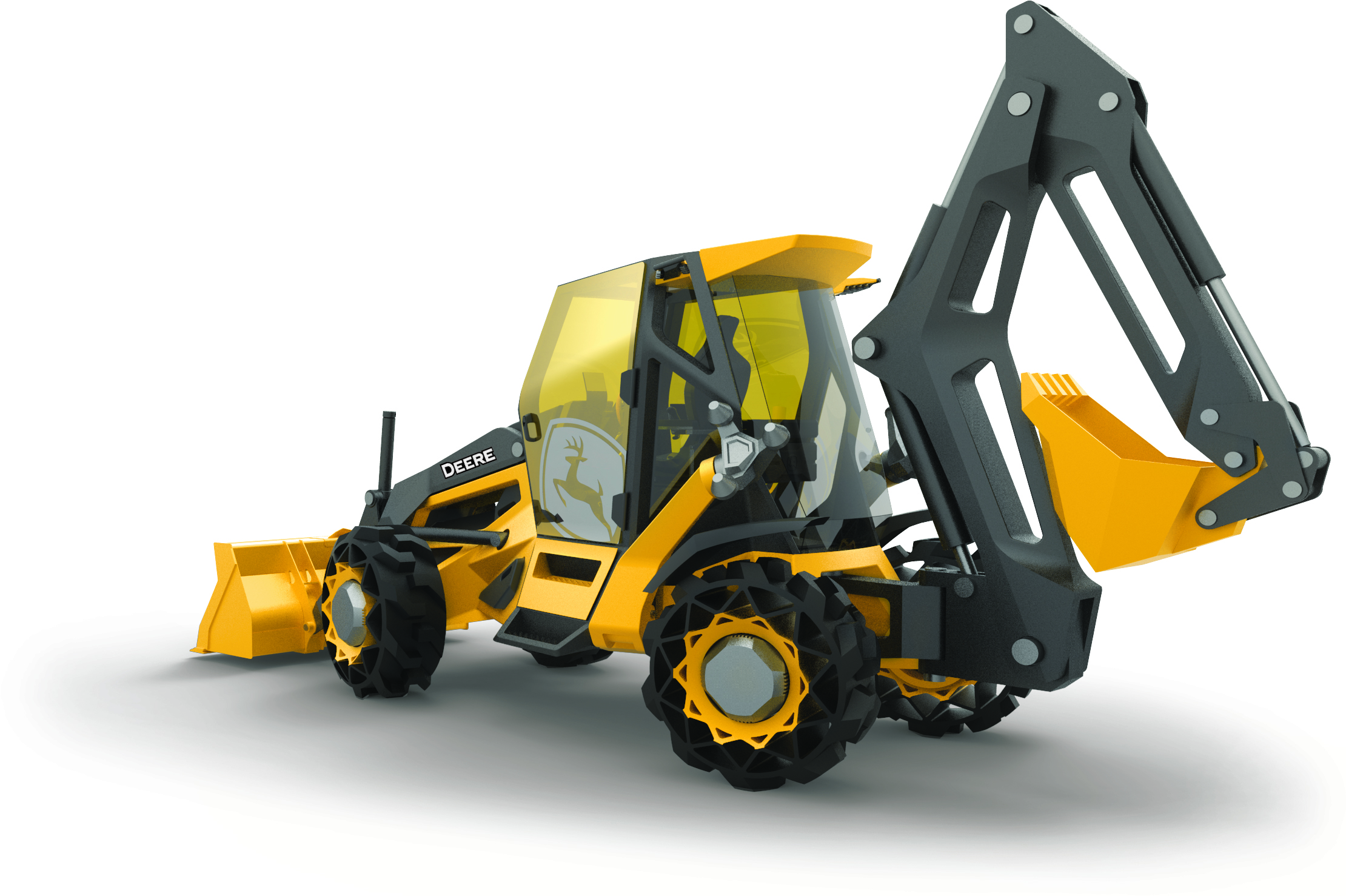 John Deere And Bmw Collaborate On Backhoe Of The Future
