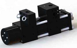Custom Booster Cylinder Manufactured for FTI Machine Worx